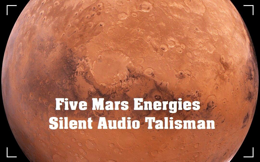 Five Mars Energies SAT